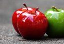 Zielone jabłka zdrowsze niż czerwone?