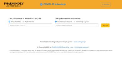 Interakcje leków z terapiami eksperymentalnymi COVID-19